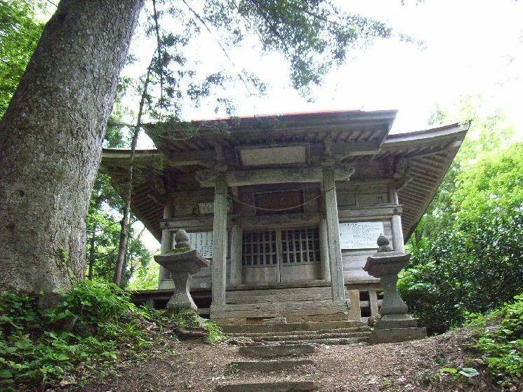 保呂羽山・波宇志別神社