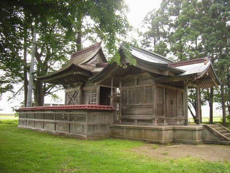 大仙市大曲:古四王神社
